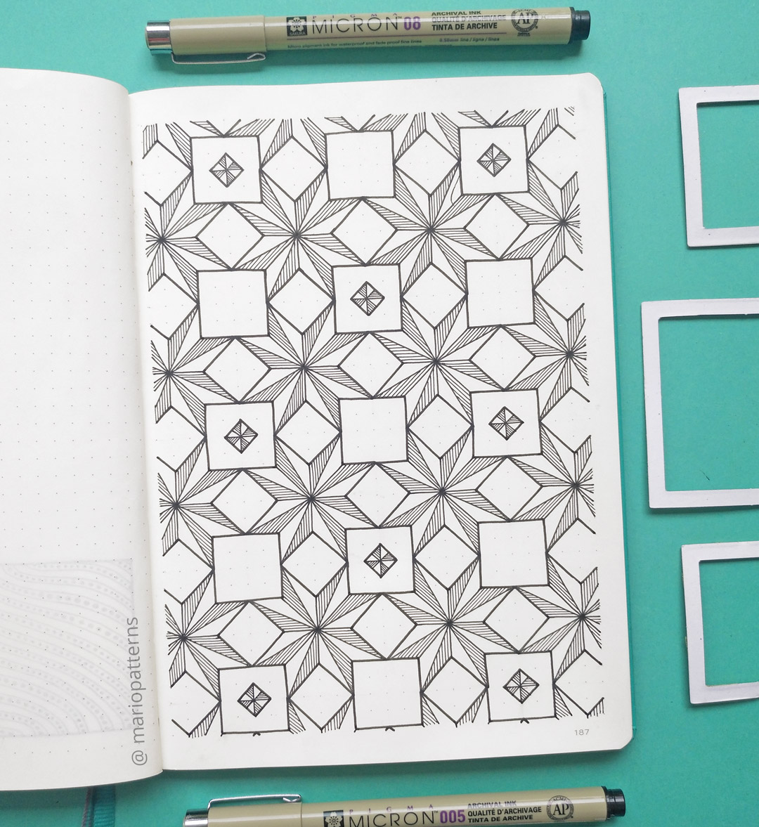 geometric pattern drawing