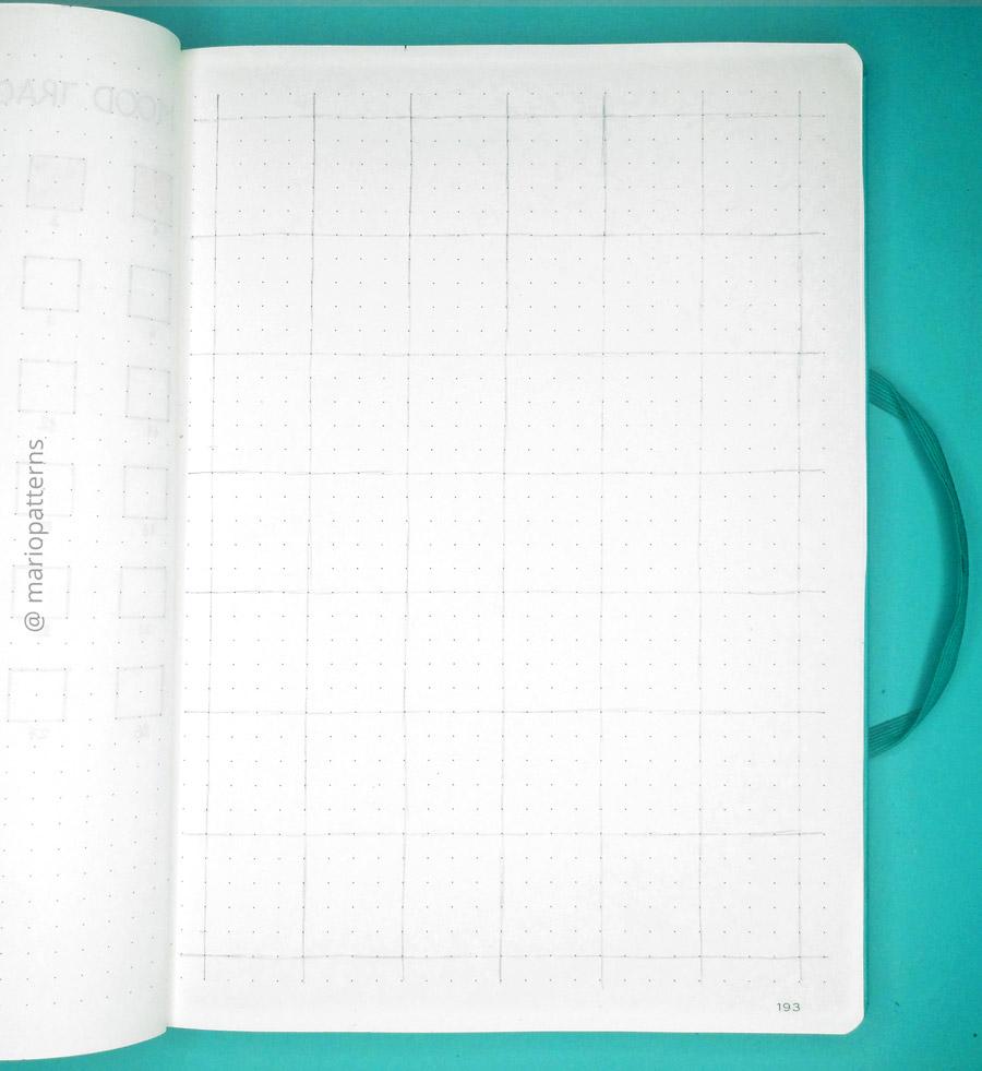 geometric cells pattern tutorial step 1