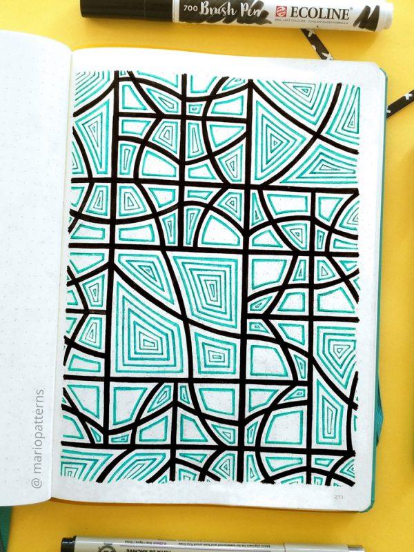 geometric pattern drawing