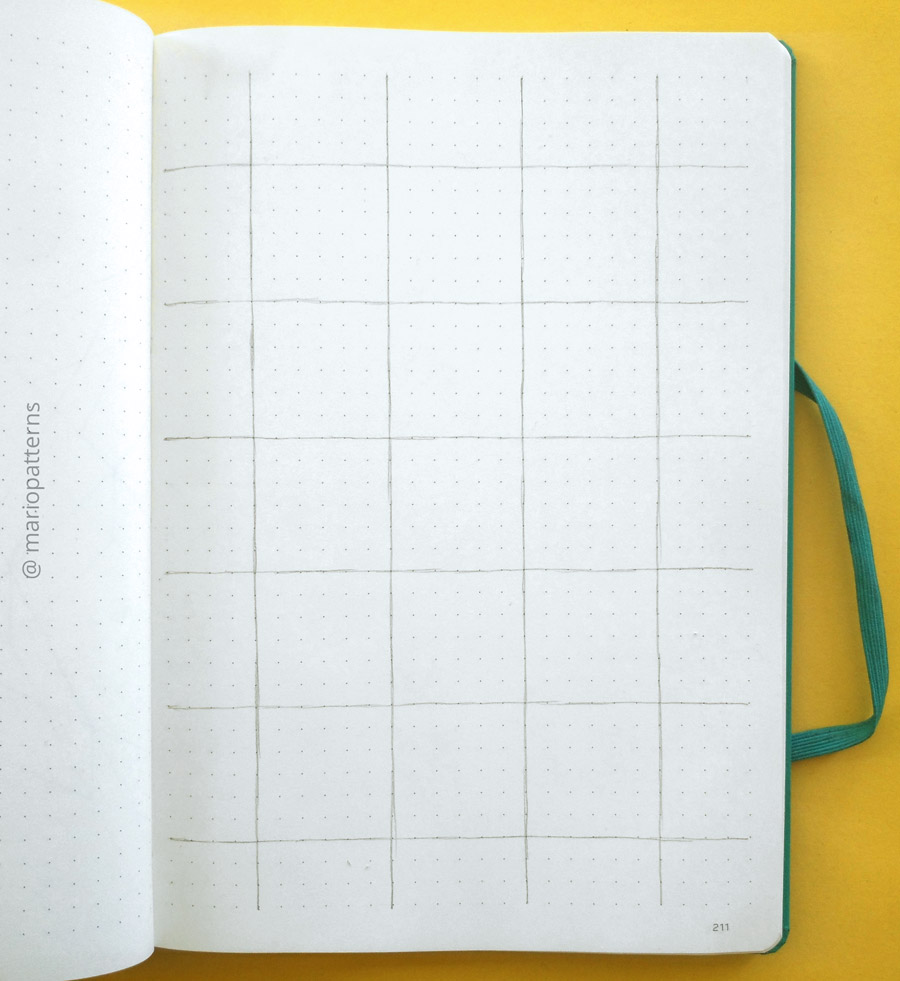 tessellation pattern tutorial step 1