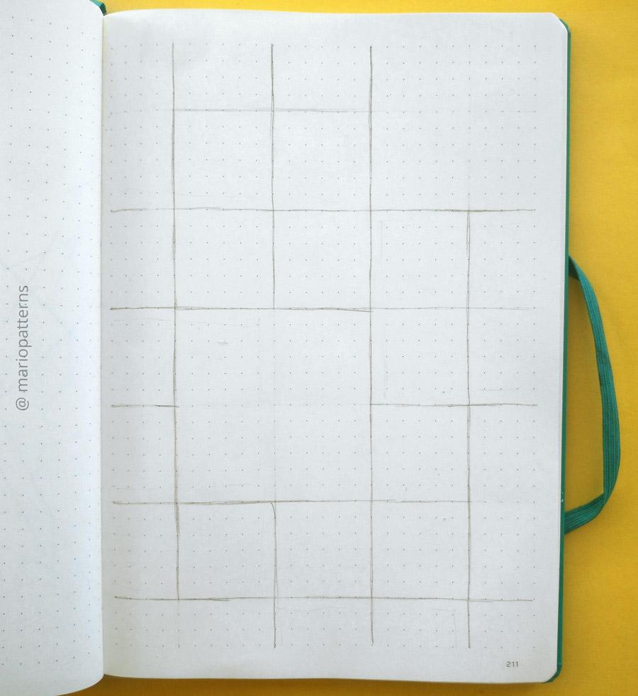 tessellation pattern tutorial step 2