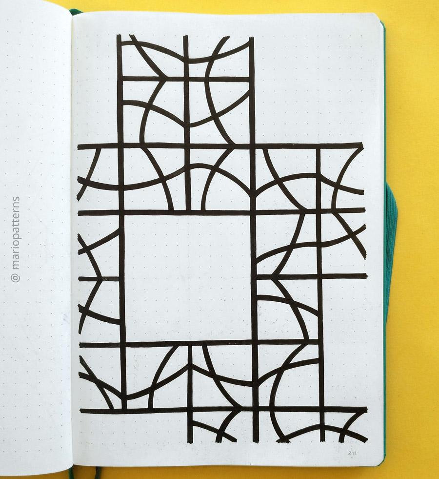tessellation pattern tutorial step 5
