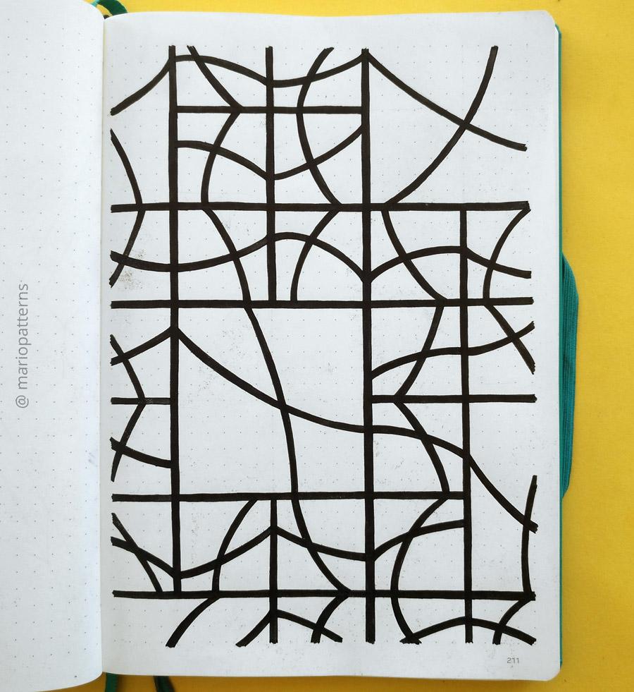 tessellation pattern tutorial step 6