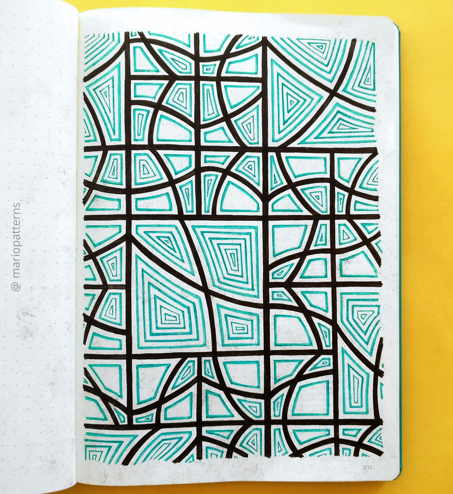 tessellation pattern tutorial step 8